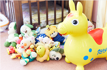 ベビーベッド・各種遊具・おもちゃなどのアイテムが充実しています。