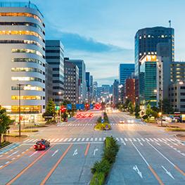 名古屋都心のホテルに宿泊!
